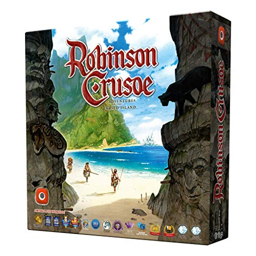 Wydawnictwo Portal- Robinson Crusoe Adventures on The Cursed Island - Juego de Mesa, with expansions (0064PG)