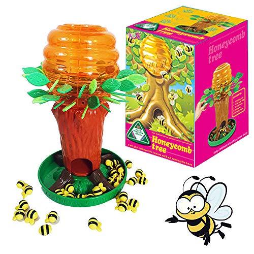 Brigamo Bee Tree - Juego de mesa para 2 jugadores, a partir de 4 años