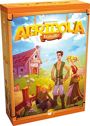 Agricola Famille Asmodee - Juego de mesa