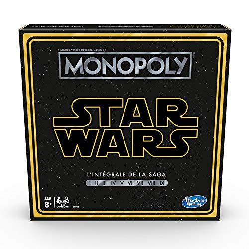 Monopoly Star Wars Saga - Juego de mesa - EDITION FRANCESE