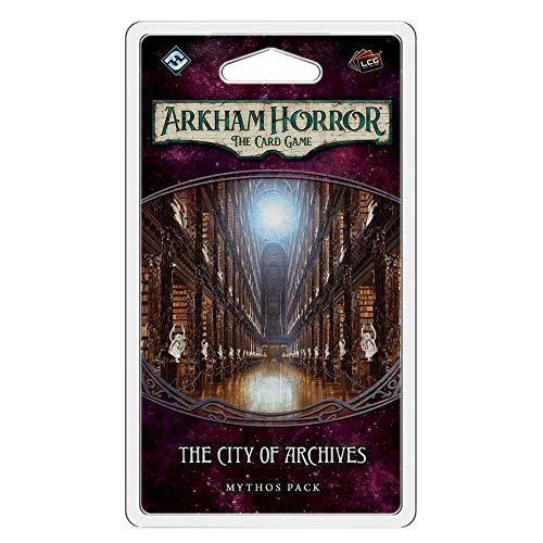 Fantasy Flight Games FFGAHC23 City of Archives Mythos Pack: Arkham Horror LCG Exp, Multicolor
