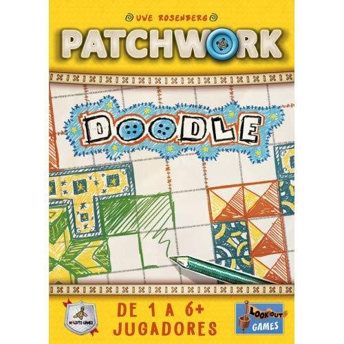 Maldito Patchwork Doodle - Juego de Mesa [Castellano]