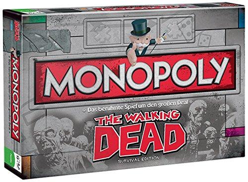Winning Moves Monopoly - The Walking Dead Survival-Edition auf Deutsch [Importación Alemana]