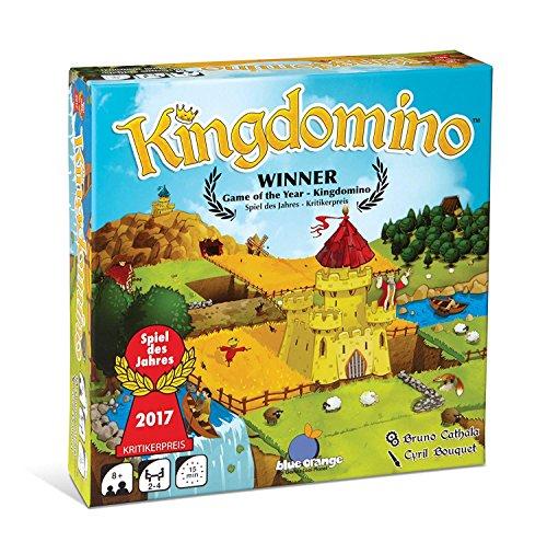 Kingdomino – Juego de mesa y estrategia, un juego de Bruno Cathala, editado por Blue Orange