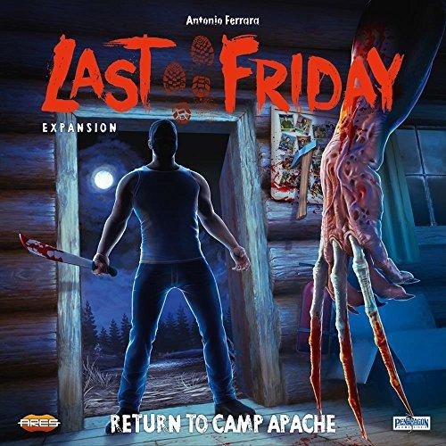 Asmodee - Last Friday expansión Retorno a Camp Apache Juego de Mesa en Italiano Pendragon Games Studio, Color, 0471