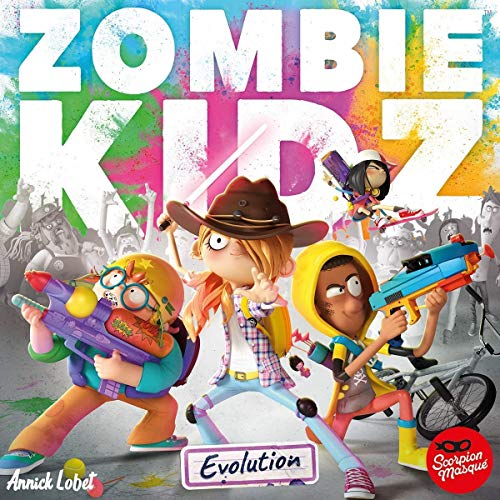 Scorpion 9070110 - Máscara Zombie Kidz