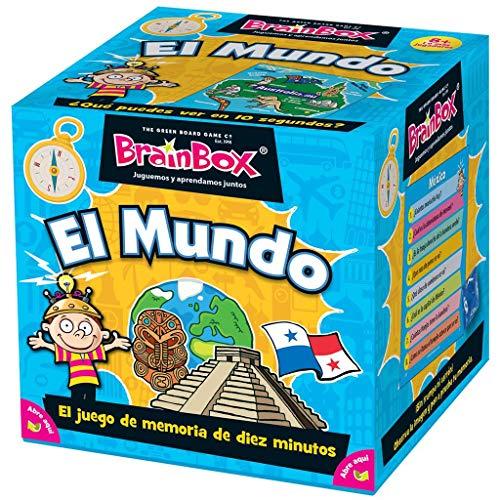 BrainBox El Mundo - Juego de Mesa en Español