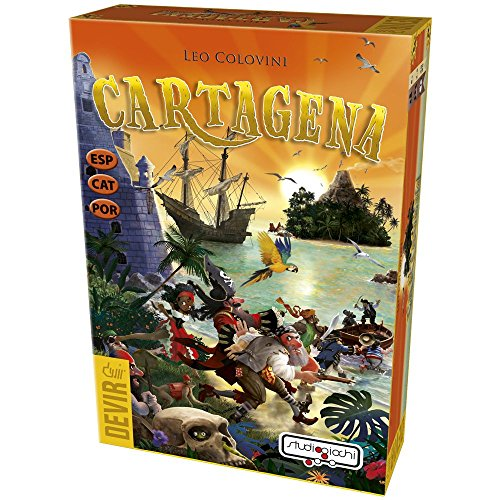 Devir- Cartagena Juego de Mesa (BGENA)
