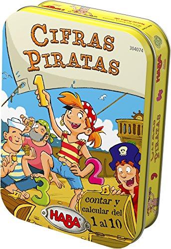 Haba- Cifras Piratas, Multicolor (Habermass 304074)