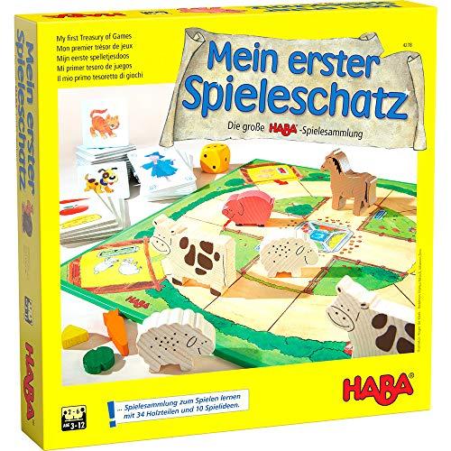 Haba Mi primer tesoro de juegos La gran colección de juegos de HABA (en alemán)