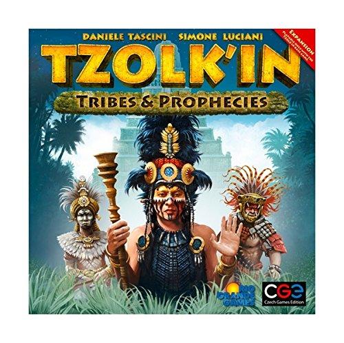 Desconocido Tzolkin : The Mayan Calender : Tribes and Prophecies - Juguete Creativo (Czech Games Edition RGG502) (versión en inglés)