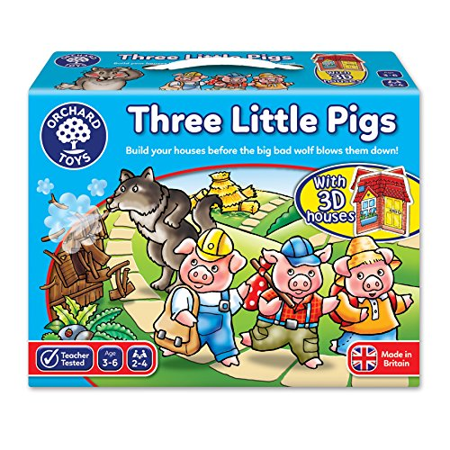 Orchard Toys - Juego de Mesa de los Tres Cerditos