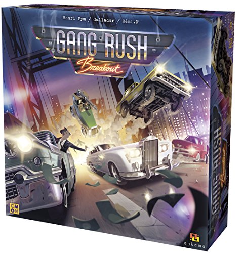 CoolMiniOrNot CMNGRU001 Gang Rush Breakout, Multicolor
