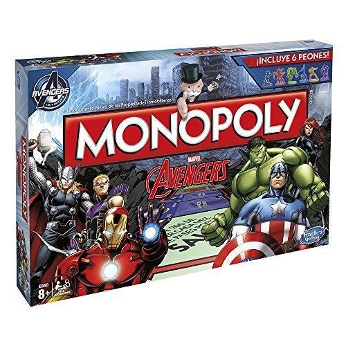 Monopoly Hasbro - Juego de Mesa, diseño Avengers (Hasbro B0323105)