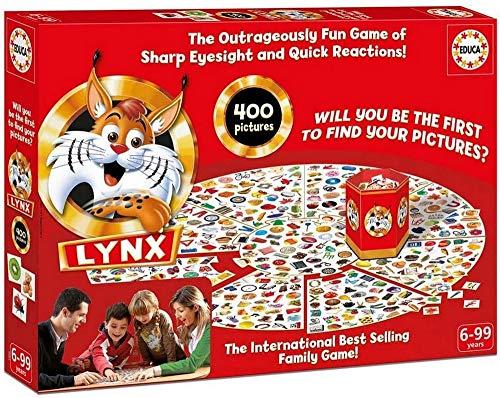 KD Toys 17055 Educa Lynx Juego de Mesa