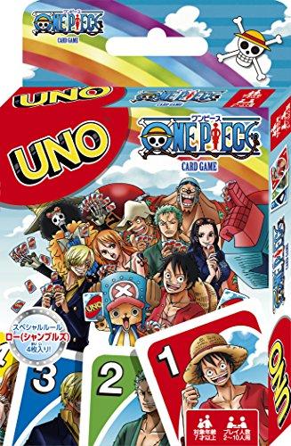 One Piece Uno Juego de Cartas (Instrucciones sólo en Japonés)