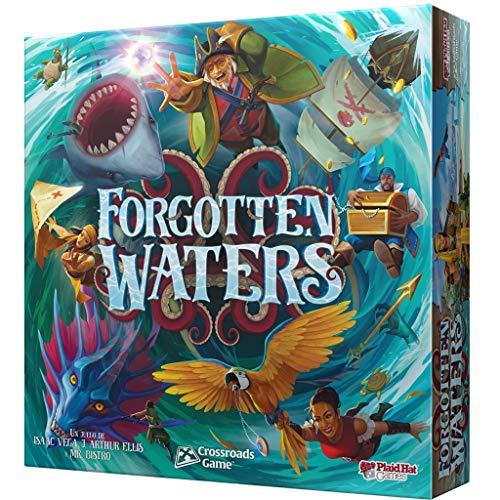 Forgotten Waters ¡Desaventuras de Piratas en un Mundo mágico! - Juego de Mesa en Español