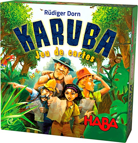 HABA- Karuba - Juego de Cartas 303475 Colorido