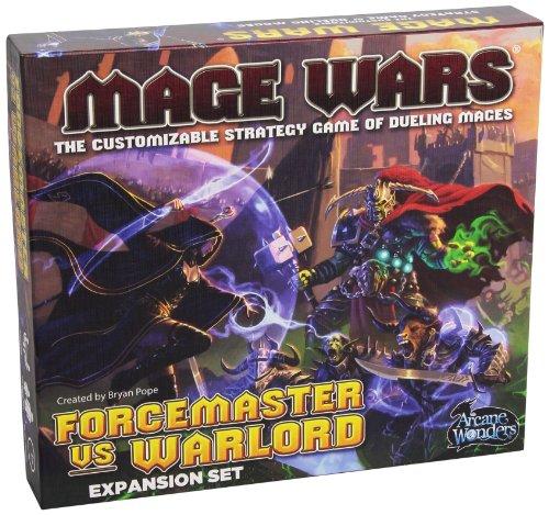 Arcane Wonders MWXFW Mage Wars Forcemaster vs. Warlord - Expansión de Juego de Cartas