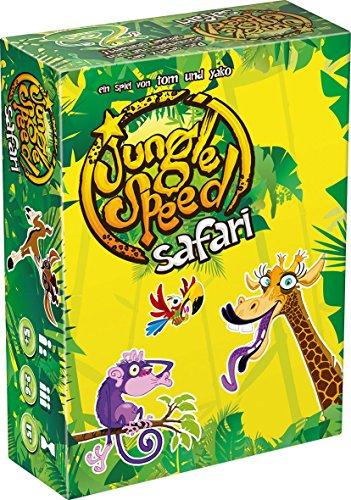 Asmodee 002292 - Safari Jungle Speed, Juego de cartas [Importado de Alemania]