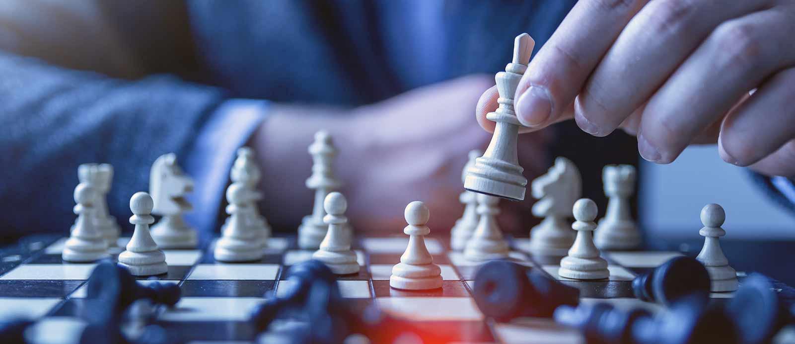el juego de mesa perfecto foto banner ajedrez