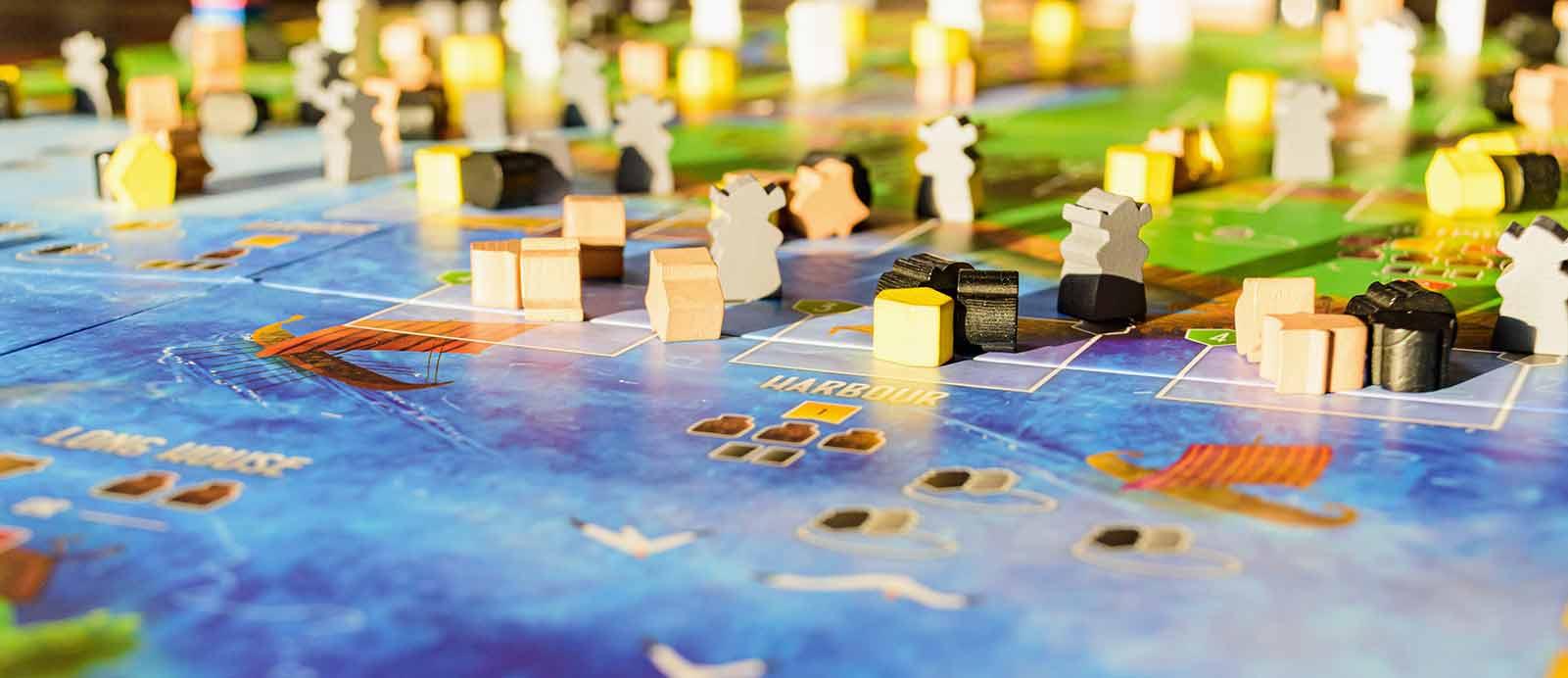 el juego de mesa perfecto foto banner piezas