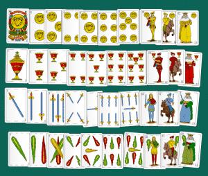 juego de cartas baraja espanola