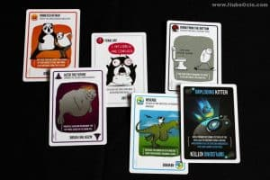 juego de cartas imploding kittens