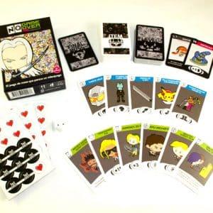 juego de cartas no game over