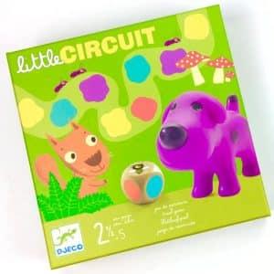juego de mesa djeco little circuit
