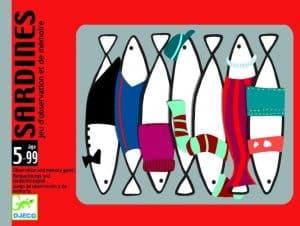 juego de mesa djeco sardines
