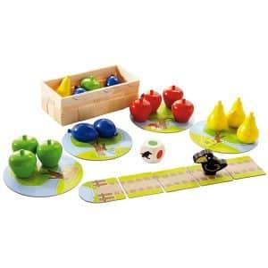 juego de mesa haba primer frutal