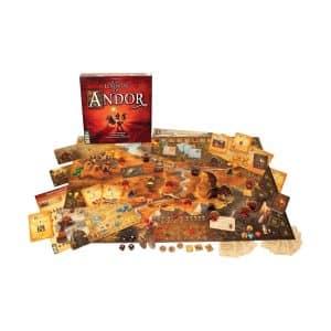 juego de mesa las leyendas de andor