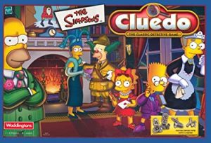 cluedo simpsons
