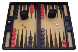 juego de backgammon