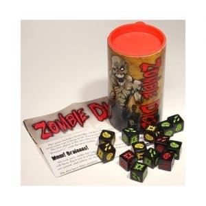 juego de mesa dados zombie