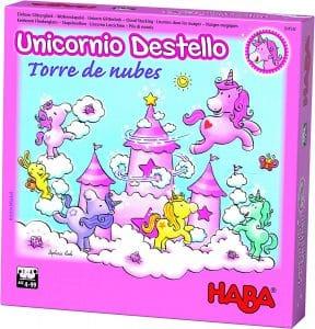 juego de mesa haba unicornio destello