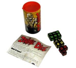 juego de mesa zombie dice
