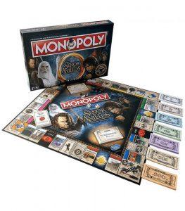monopoly senor de los anillos