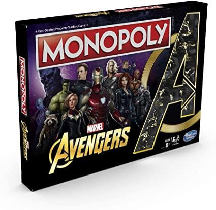 avengers monopoly juego de mesa
