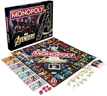 avengers monopoly tablero