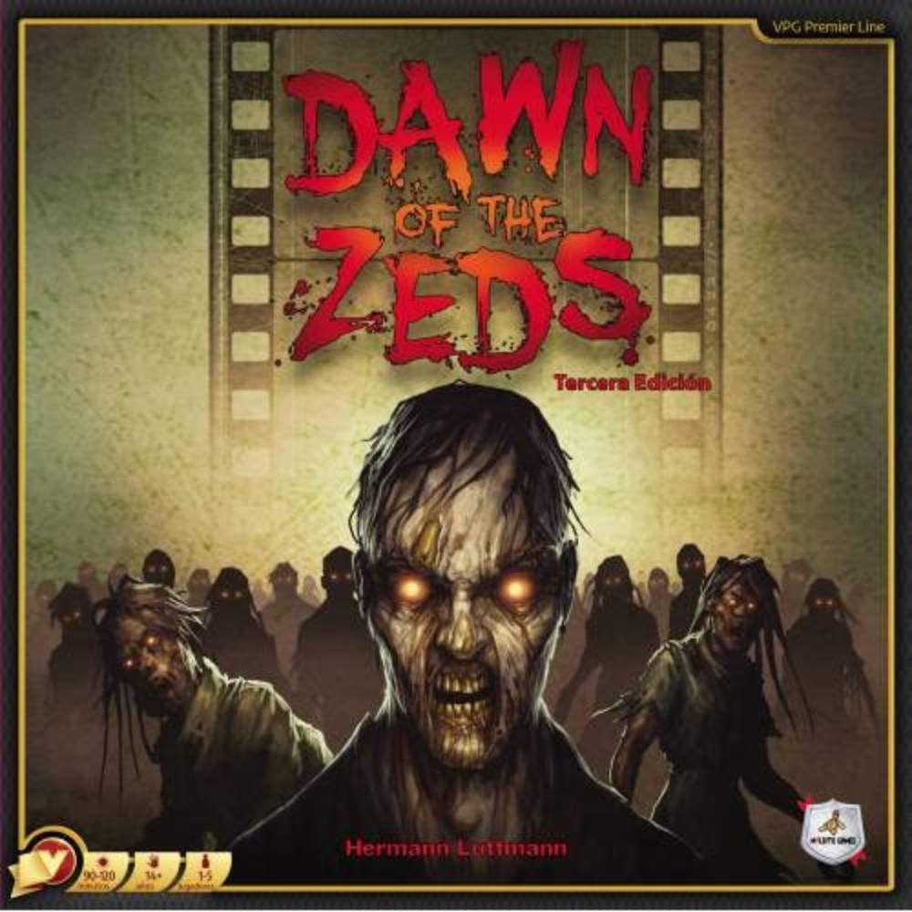 dawn of the zeds juego de mesa de miedo
