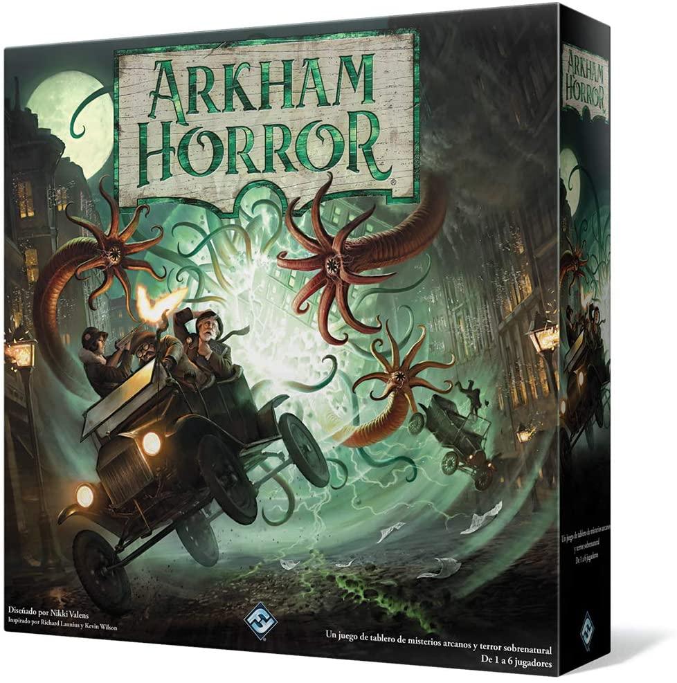 juego de mesa de miedo arkham horror