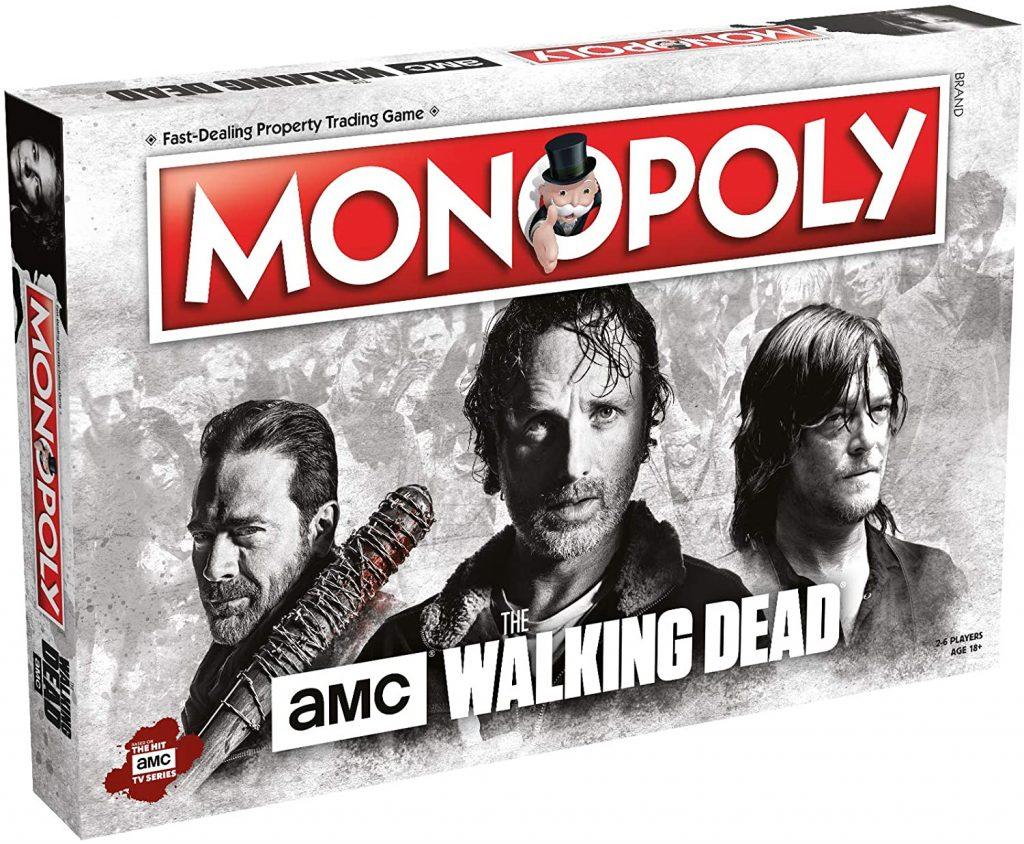 monopoly the walking dead juego de mesa