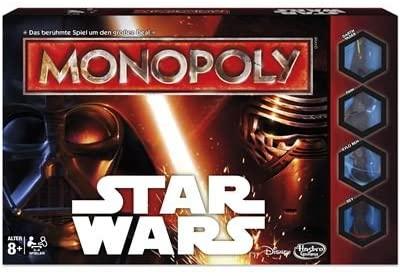 star wars monopoly juego de mesa