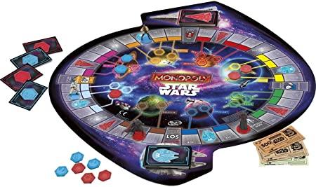 star wars monopoly tablero